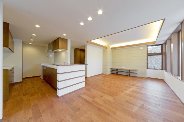 デザイン性と住みやすさを考えた2世帯同居の住まい